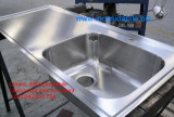 lavello in acciaio inox su misura con vasca saldata