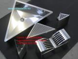 canale attrezzato inox triangolare scolapiatti su misura