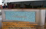 Banco bar sagomato navale in acciaio inox  aisi 316