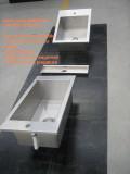 Vasche in acciaio inox su disegno del cliente