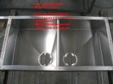 lavello inox doccpio in acciaio inox su misura