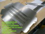 Griglia su misura in acciio inox satinato taglio laser