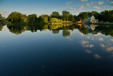 Mill Pond Morning Reflections  ~  June 1