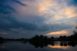 Late Evening on the Mill Pond  ~  June 24