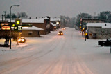 Snowy New London Main Street  ~  January 3