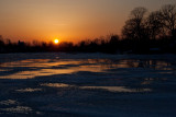 Mill Pond Sunset  ~  March 14