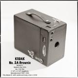Kodak No2A Brownie Model B