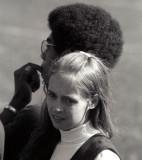 Cheerleader and Afro - McMaster University