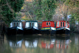 March 21 2010: Narrowboats at Rest