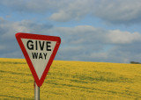 May 4 2010 : Give Way