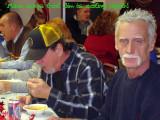 Mike says Jim is eating again!