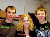 Jeremy, Casey & CJ