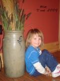 Allie, my new Great-Niece