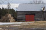 Tin roof - red door