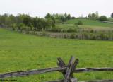 Split rail fences in Lanark County