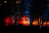Lightshow at Slussholmen