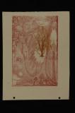 secret garden (xerox transfer lithograph) 13 x 9