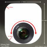 Gallery : : Montage diffuseur de flash pour macro - Flash diffuser mounting for macro