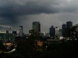 Thunderstorm over Brisbane