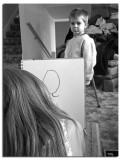 Bug Doing Portrait Work