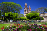 Morelia Cathedral  Plaza of the Martyrs Mexico