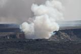 halemaumau eruption close-up