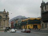 Wandering the streets of Lima