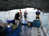 The fishing deck