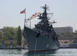 Crimea. Sevastopol. 9 of May. Black Sea navy
