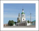 Moscow region. Town of Zaraisk. Zhivonachalnoy troitsy (Trinity) church 1776