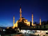 Istanbul. Sultanahmet Cami ( Blue mosque )
