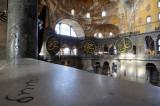 Istanbul. Hagia Sophia (Ayasofya) Church interior (built at 532 - 537 AD)
