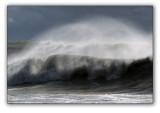 Sochi, storm in the Black sea
