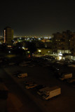 Kuwait city before dawn.