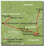 JOURNEY THROUGH CENTRAL EUROPE