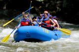 Rafting on Nantahala