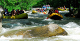 Rafting Gridlock on Nantahala