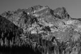 Sierra Buttes B&W