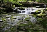12.  A cascade behind the Glen Falls Inn.