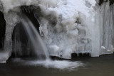 14. At the base of the frozen-over Artists' Falls.