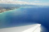 Flying into Honolulu