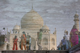 Taj Mahal pool reflection