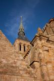 The Spire of Le Mont Saint-Michel