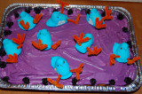 Pre-Ebola Outbreak at the Peep Coop cake