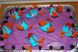 Ebola Outbreak at the Peep Coop cake