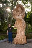 Emil's sculpture on 03.05.2008