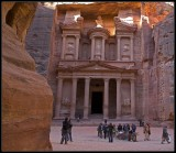 The Red Rock of Petra