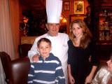 Jared and Kayla with the Great Chef
