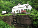 Swains lockhouse and lock