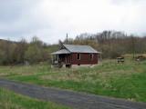 Abandoned home beside the WMRT